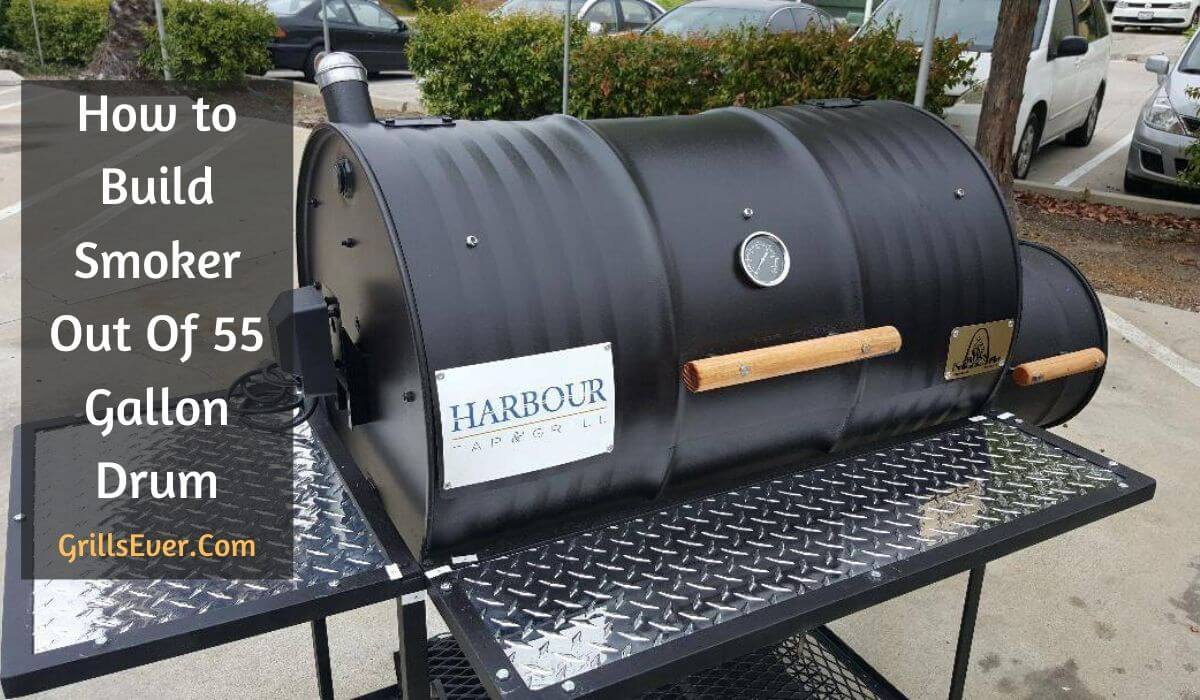 Build a Smoker Out Of a 55 Gallon Drum