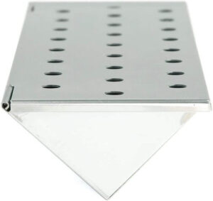 Charcoal Companion Stainless Steel V-Shape Smoker Box For Gas Grill