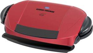 George Foreman 5-Serving Removable Plate Electric Indoor Grill