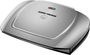 George Foreman 9-Serving Basic Plate Electric Grill