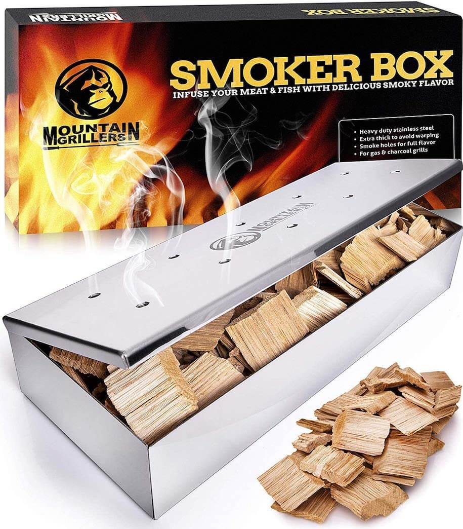 Mountain Grillers Smoker Box for Wood Chips